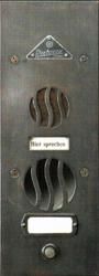 Первый домофон компании Siedle. 1935 г. выпуска.