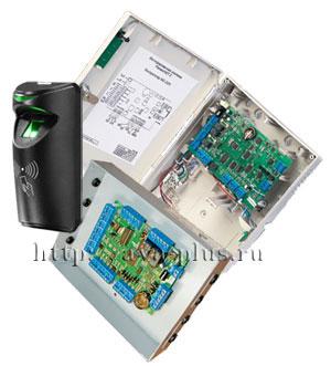 Сетевые системы контроля доступа с биометрическим считывателем